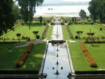 Nishat Garden srinagar Kashmir