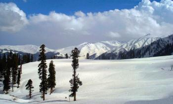 Gulmarg snowland