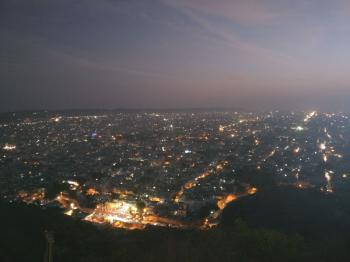 Night View - Jaipur City