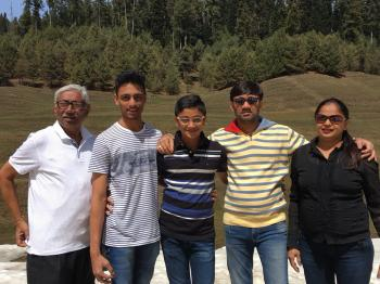 SAMEER BHAI WITH FAMILY FROM MUMBAI
