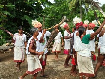 Lanjia Saura Dance- Odisha