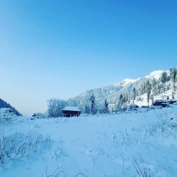 Malana snow view