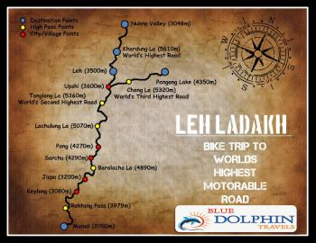 Bike Trip In Leh Ladakh