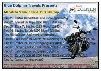 Manali To Manali Bike Trip