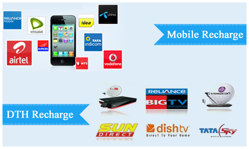 Mobile & DTH Recharge Services (B2B2C)