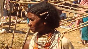 Dongaria Kondh Tribe at Market- Orissa