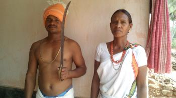 Lanjia Saura Tribal couple- Orissa