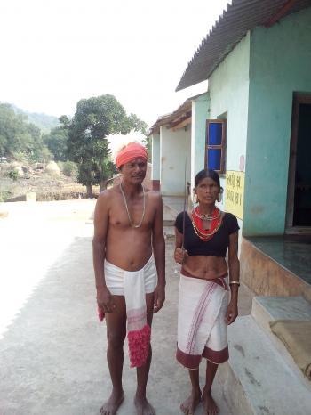 Lanjia Saura Tribal couple- Odisha (Orissa)