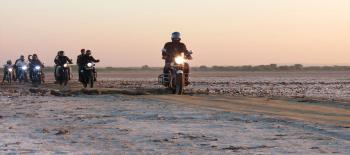 KUTCH TOUR ON MOTOR BIKE