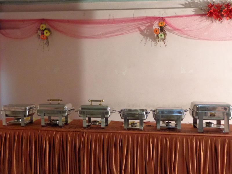 buffet arrangement