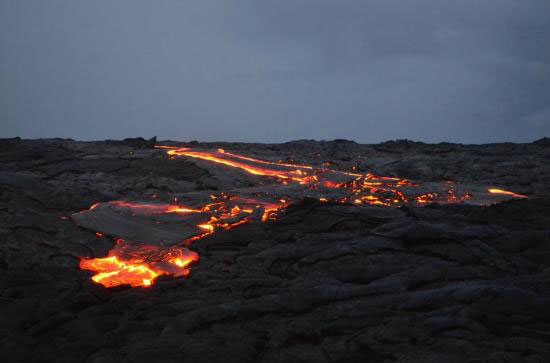 night lava