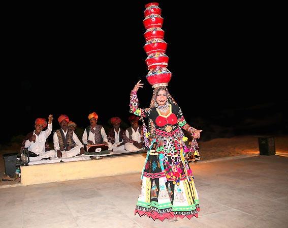Evening Folk dance