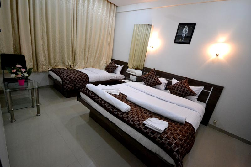 Triple sharing super deluxe room AC