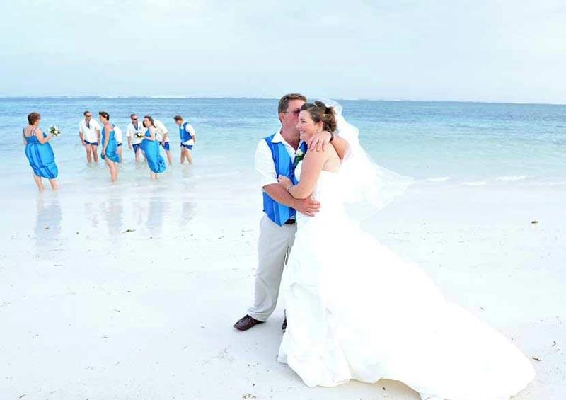 Beach Wedding at Flamboyant