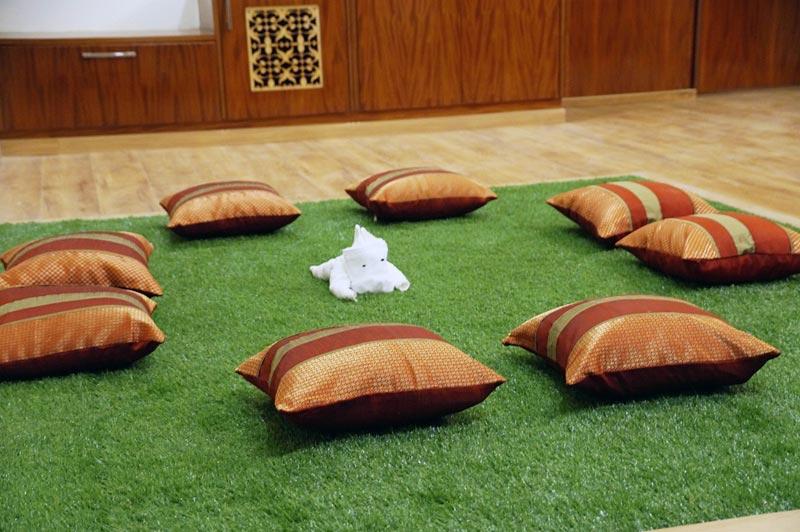 Serenity Suite's Mini Lawn