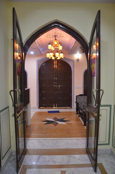 Entrance of The TT Palace