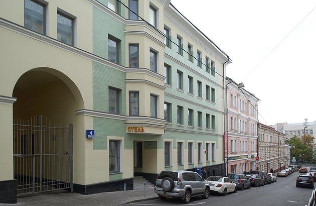 Facade Hotel Godunov