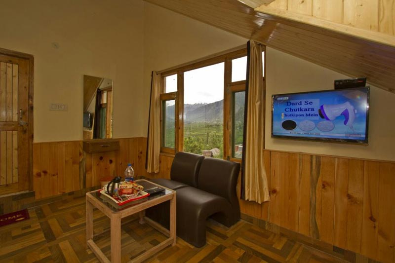 Royal nature mountain room view
