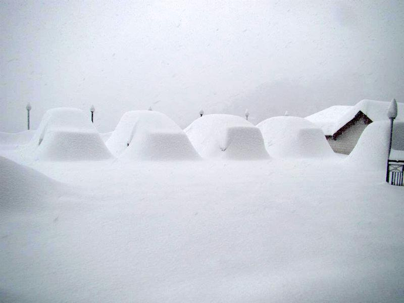 PARKING IN SNOW