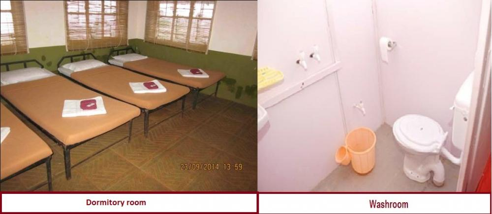 Inner view of Dormitory room