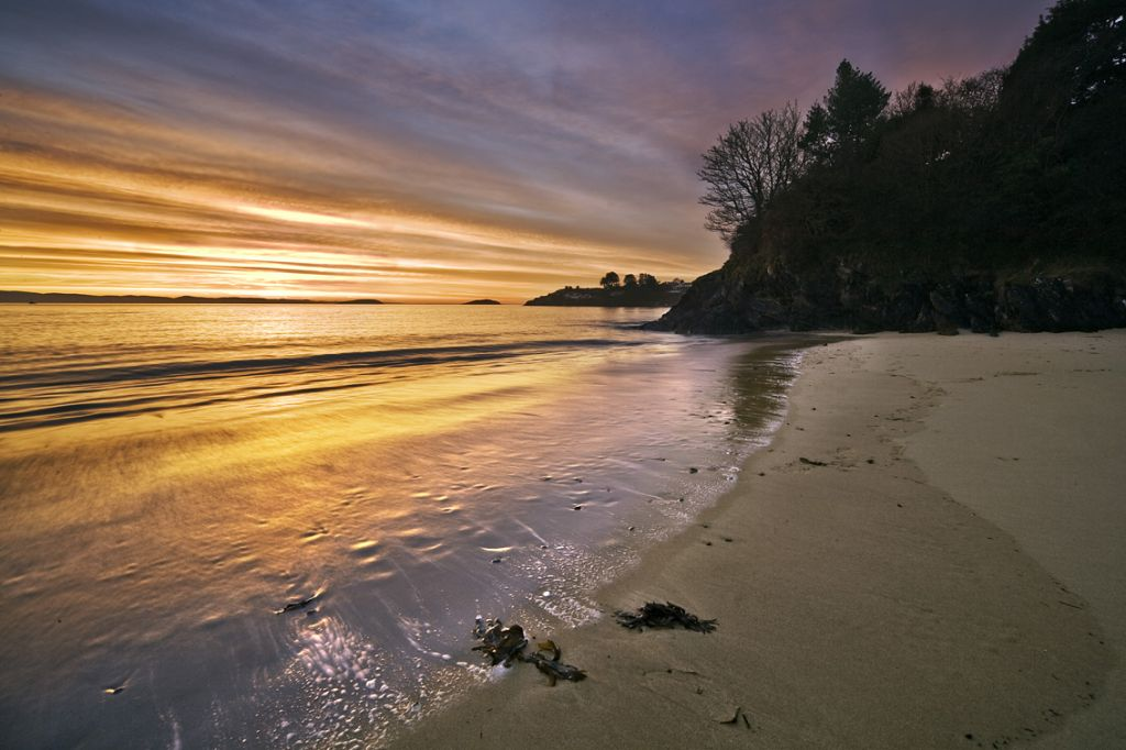Abersoch Beach in Gwynedd