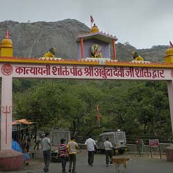 Adhar Devi Temple in Mount Abu
