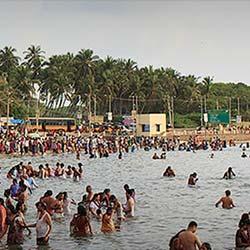 Agni Tirtham in Rameswaram
