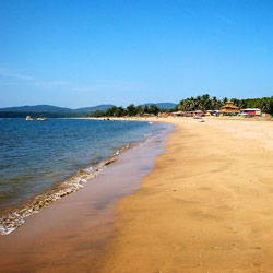 Agonda Beach in Goa City
