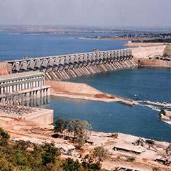 Almatti Dam in Bijapur