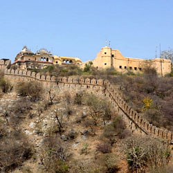 Alwar Fort in Alwar