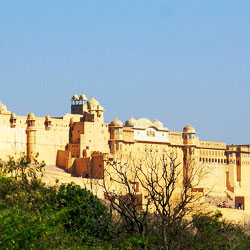 Amer Fort in Jaipur