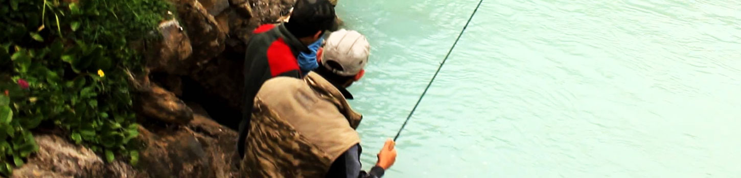Angling in Kashmir