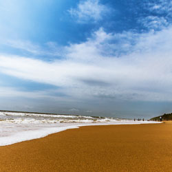 Anjuna Beach in Goa City