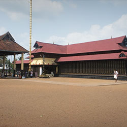 Aranmula Temple in Thiruvananthapuram
