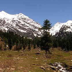 Aru Valley in Pahalgam