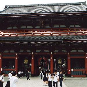 Asakusa Shrine in Tokyo
