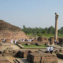 Ashoka Pillar in Vaishali