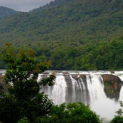Athirappilly Falls in Thrissur