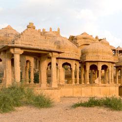 Bada Bagh in Jaisalmer