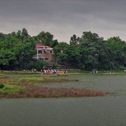 Badkhal Lake in Faridabad