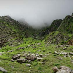 Badrinath Hill in Badrinath