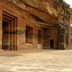 Bagh Caves in Dhar
