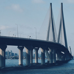 Bandra Worli Sea Link in Mumbai
