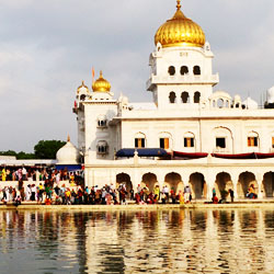 Gurdwara Bangla Sahib in New Delhi