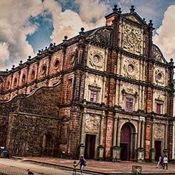 Basilica of Bom Jesus in Goa City