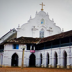 Basilica of St. Mary, Champakulam in Alleppey