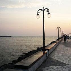 Beypore Beach in Beypore
