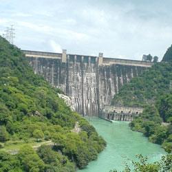Bhakra Dam in Bilaspur