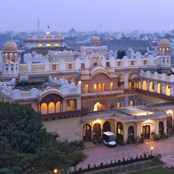 Bharatpur Palace in Bharatpur