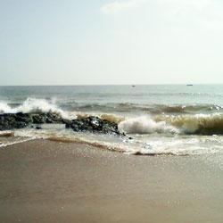 Bheemunipatnam Beach in Visakhapatnam